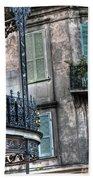 0275 New Orleans Balconies Bath Towel