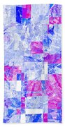 0318 Abstract Thought Bath Towel