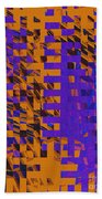 0347 Abstract Thought Bath Towel