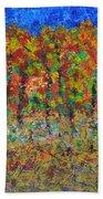 035 Fall Colors Bath Towel