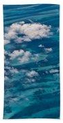 0458 Above The Caribbean Bath Towel