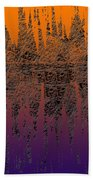 0740 Abstract Thought Bath Towel