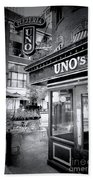 0748 Uno's Pizzaria Bath Towel