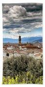 0753 Florence Italy Bath Towel