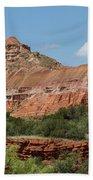 08.03.14 Palo Duro Canyon Rojo Grande Trail 10e Bath Towel