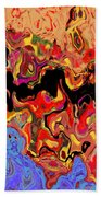 0809 Abstract Thought Bath Towel