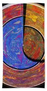 0826 Abstract Thought Bath Towel