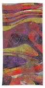 0906 Abstract Thought Bath Towel