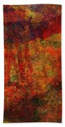 0911 Abstract Thought Bath Towel
