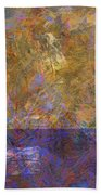 0913 Abstract Thought Bath Towel