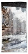 0938 Lasalle Falls - Starved Rock State Park Bath Towel