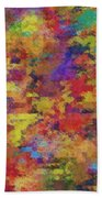 0955 Abstract Thought Bath Towel