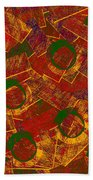 0255 Abstract Thought Bath Towel