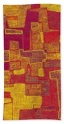 0296 Abstract Thought Bath Towel