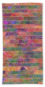 0310 Abstract Thought Bath Towel