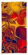 0576 Abstract Thought Bath Towel