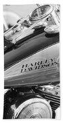 110th Anniversary Harley Davidson Bath Towel