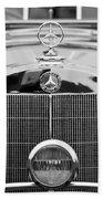 1936 Mercedes-benz 540k Mayfair Special Roadster Bath Towel