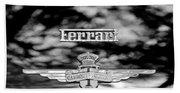 1950 Ferrari Emblem Bath Towel