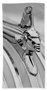 1951 Pontiac Streamliner Hood Ornament Bath Towel