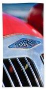 1952 Frazer-nash Le Mans Replica Mkii Competition Model Grille Emblem Bath Towel