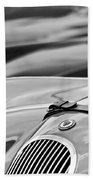 1952 Jaguar Xk 120 John May Speciale Hood Emblem Bath Towel