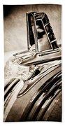1953 Pontiac Hood Ornament Bath Towel
