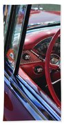 1955 Chevrolet Belair Steering Wheel Bath Towel