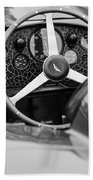1957 Aston Martin Dbr2 Steering Wheel Bath Towel