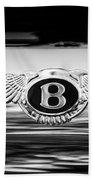 1961 Bentley S2 Continental - Flying Spur - Emblem Bath Towel