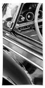 1962 Dodge Polara 500 Side Emblem - Steering Wheel Bath Towel