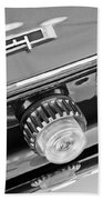 1962 Plymouth Fury Taillights And Emblem Hand Towel