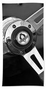 1965 Shelby Cobra 427 Steering Wheel Emblem Bath Towel