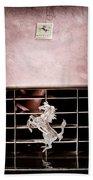 1966 Ferrari 330 Gtc Coupe Grille Emblem Bath Towel