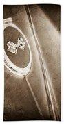 1967 Chevrolet Corvette Rear Emblems Bath Towel