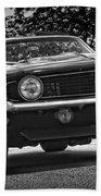 1969 Chevy Camaro Ss Bath Towel