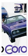 1970 Dodge Coronet Super Bee Bath Towel