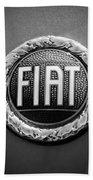 1972 Fiat Dino Spider Emblem Bath Towel