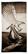 1986 Zimmer Golden Spirit Hood Ornament Bath Towel