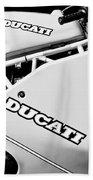 1993 Ducati 900 Superlight Motorcycle Bath Towel