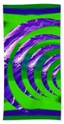 Abstract 123 Bath Towel