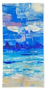 Abstract Beach Bath Towel