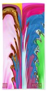 Abstract Emotional Stages  Confusion Disbelief Grief Anger Walkaway Bath Towel