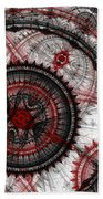 Abstract Mechanical Fractal Hand Towel
