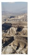1-aerial Photography Of The Negev  Bath Towel