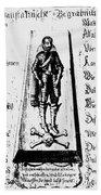 Albrecht Von Wallenstein (1583-1634) Bath Towel