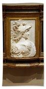 Alexander The Great By Andrea Del Verrocchio Bath Towel