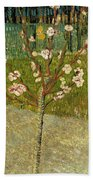 Almond Tree In Blossom Bath Towel