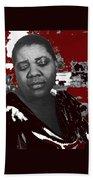 American Blues Singer Bessie Smith Unknown Date-2013 Bath Towel
