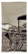 Amish Boy Tips Hat Hand Towel